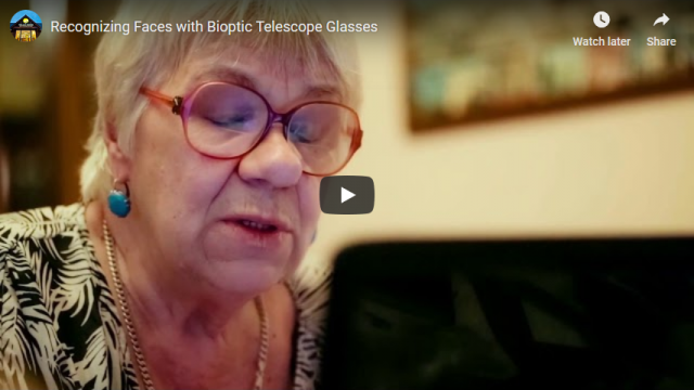 Screenshot 2019 03 20 Recognizing Faces with Bioptic Telescope Glasses   YouTube
